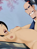 Pregnant Mulan cartoon sex